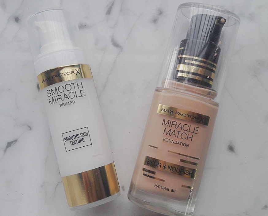 Max Factor Smooth Miracle Primer & Miracle Match Foundation