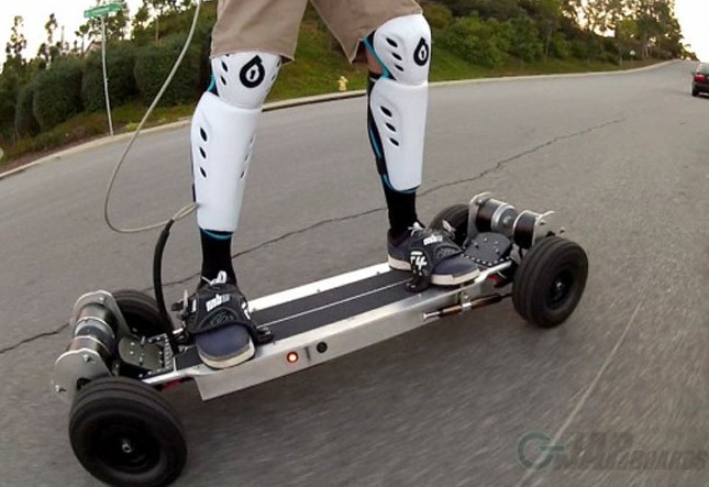 Electric Skateboards on the Road