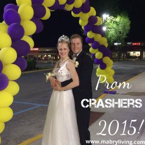 Mom & Dad Crash Local High School Prom