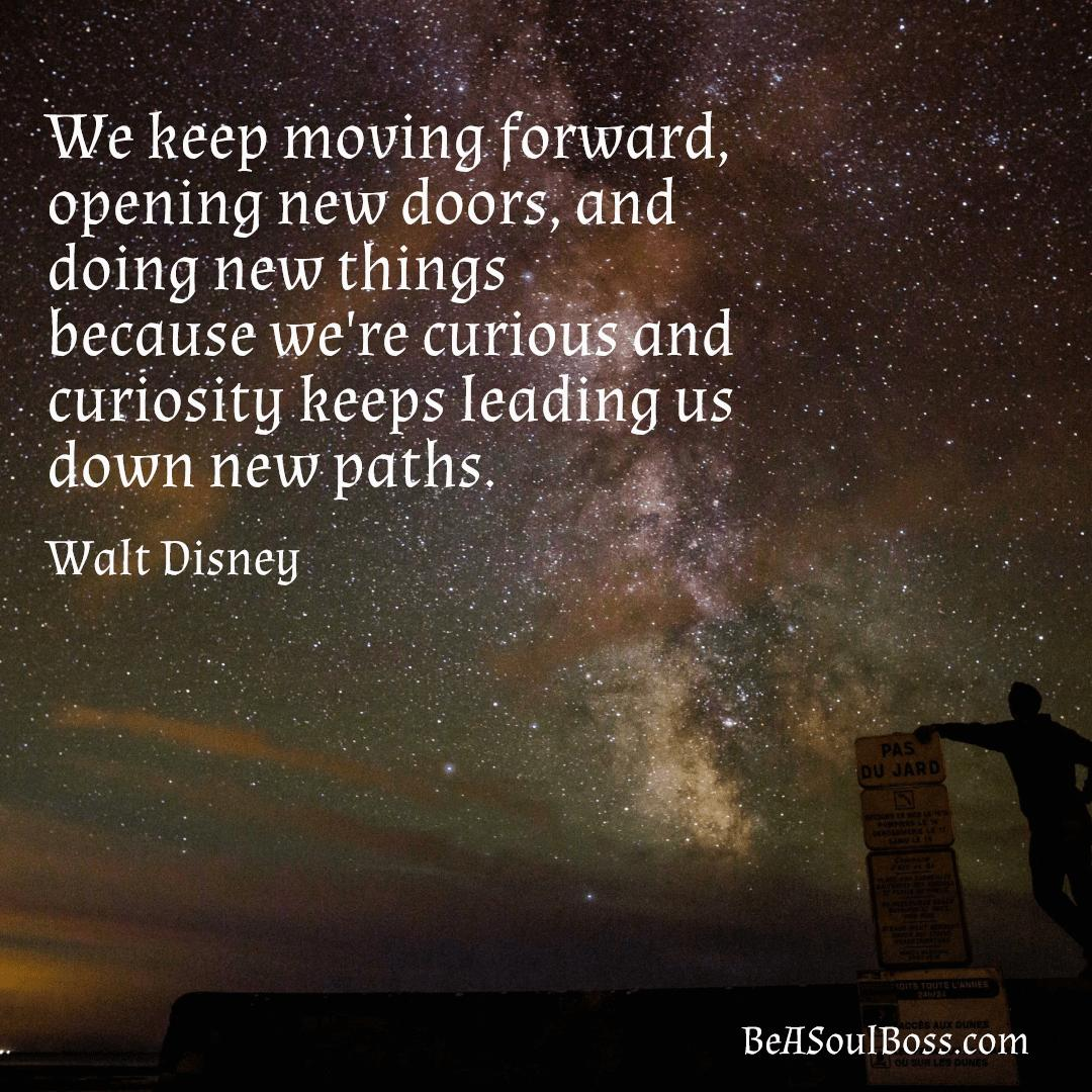 Curiosity Leads Down New Paths