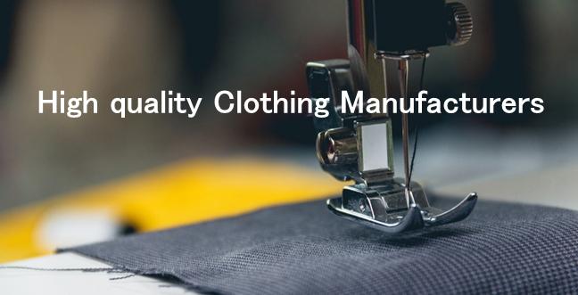 bestgarment manufacturer