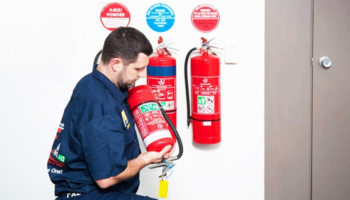 fire protection services at Brisbane