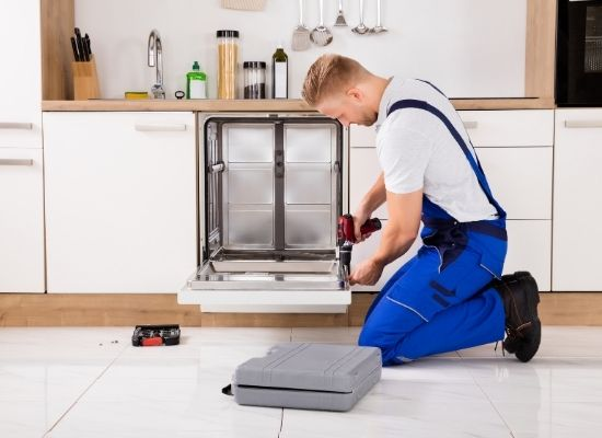how to remove and replace a dishwasher