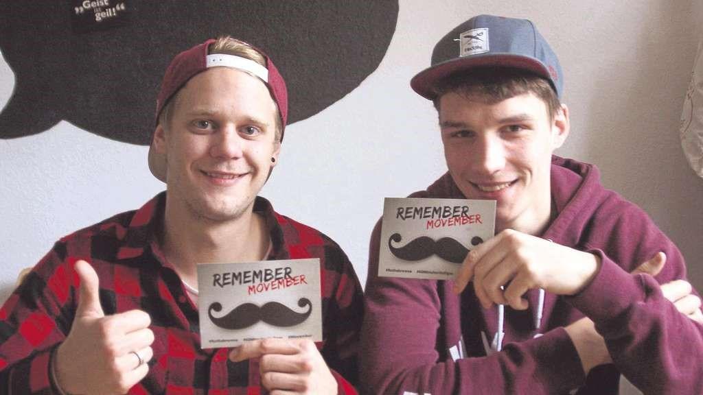 Movember campaign - men's health