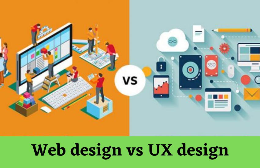 Web design vs UX design