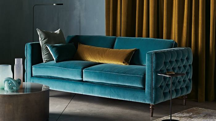luxury velvet sofas