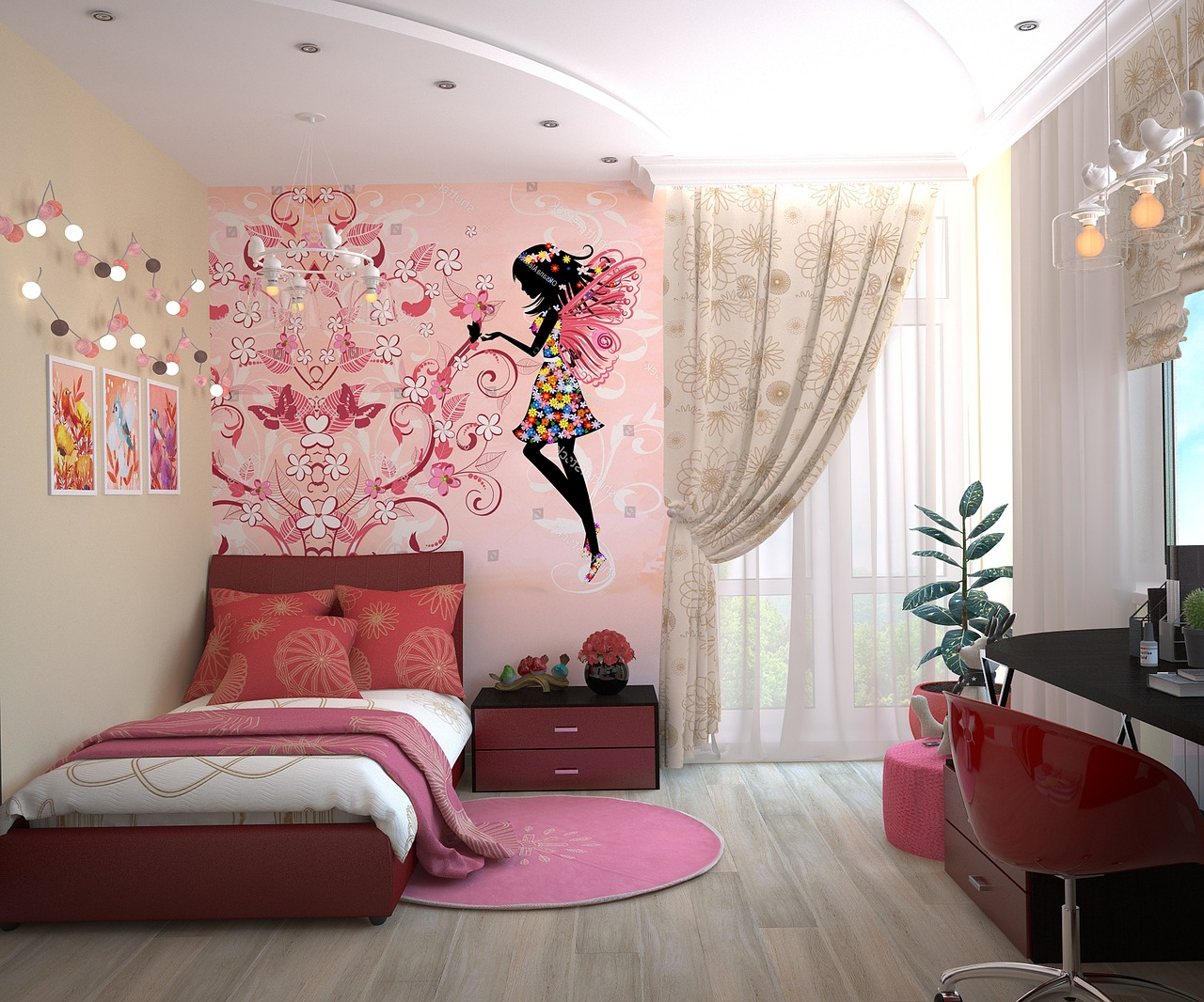 decorating ideas for kids bedroom