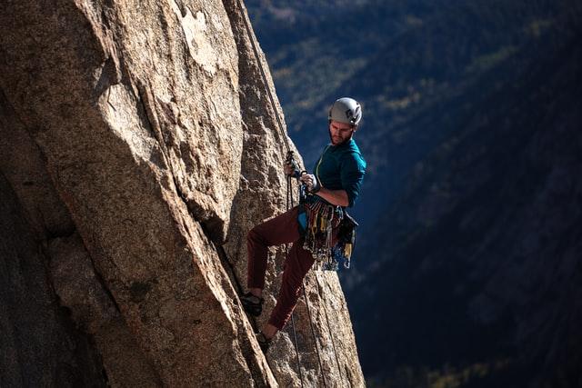 rock climbing benefits