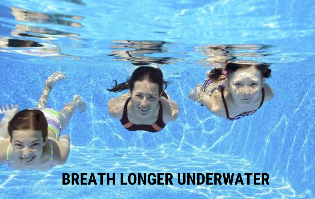 Breath longer underwater