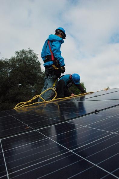 Solar panels,