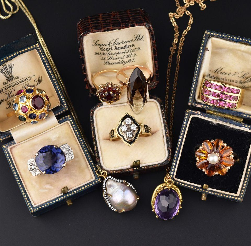 Estate Vintage & Antique rings