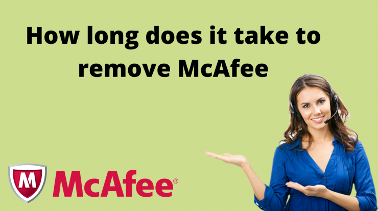 mcafee take forever to uninstall