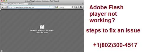 adobe flash player not working