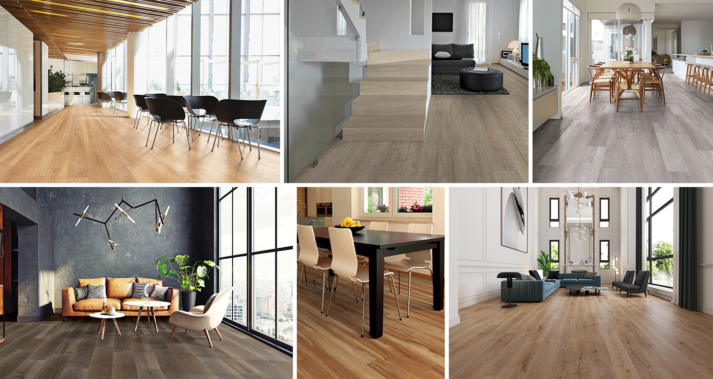 COREtec Flooring assures you a high-end look and creates a friendly environment for the guests.