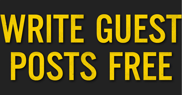Free Guest Posts