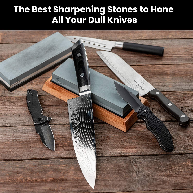 Knife sharpening stone