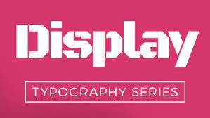 5 Best Free Display Fonts