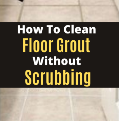 It can be difficult and time-consuming to clean grout from floor tiles. It can take hours to clean g