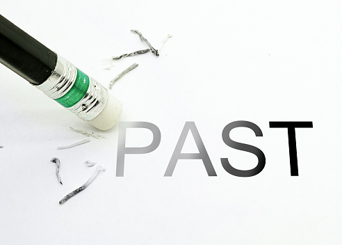 An eraser erasing past showing the process of Expungement of Class C Misdemeanors