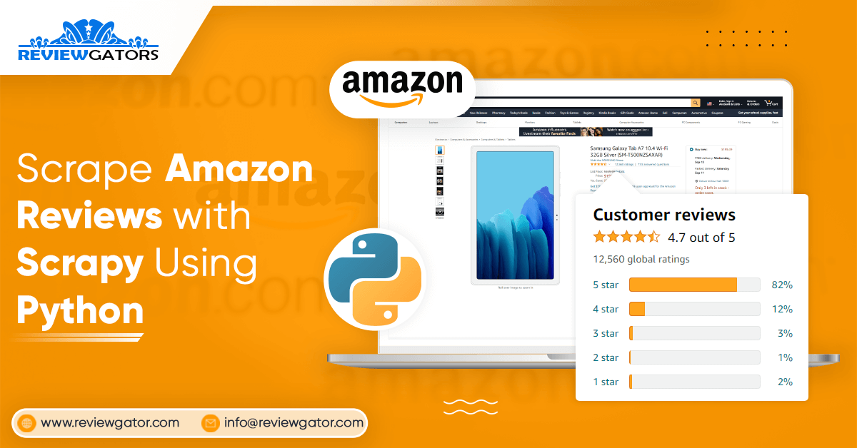 Scrape Amazon Reviews With Scrapy Using Python