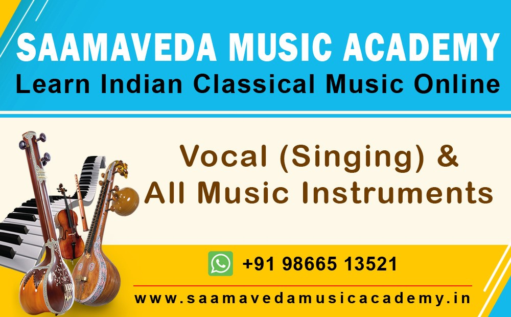 Learn Online Carnatic Vocal Music Classes at Saamaveda Music Academy
